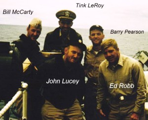 13 LST 848 officers_McCarty_Leroy_Lucey_Pearson_Robb_HI_1